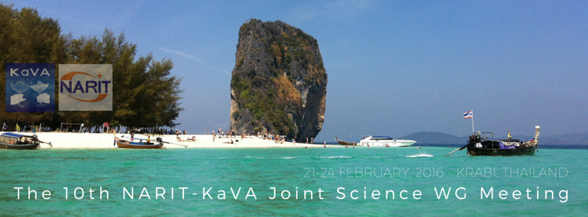 10th KaVA Joint Science WG meeting banner